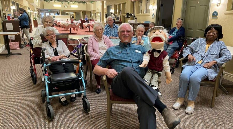 Chaplain Stan and Gramps Bring Comfort and Hope
